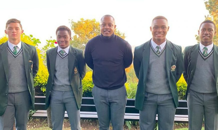 Senzo Mkhize TAG Foundation recipient (2011 – 2015), King Edward VII School, Class of 2015, NWU PUKKE BA Communications Graduate 2019 & now TAG Foundation Programme Manager