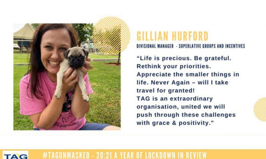 Gillian Hurford's 20:21 reflections