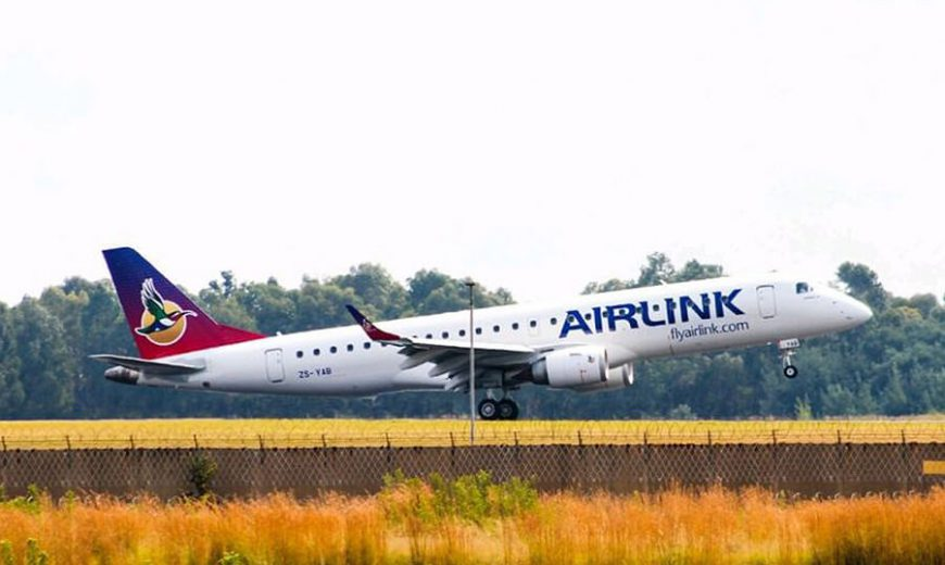 Airlink resumes its Nelspruit-Livingstone Service