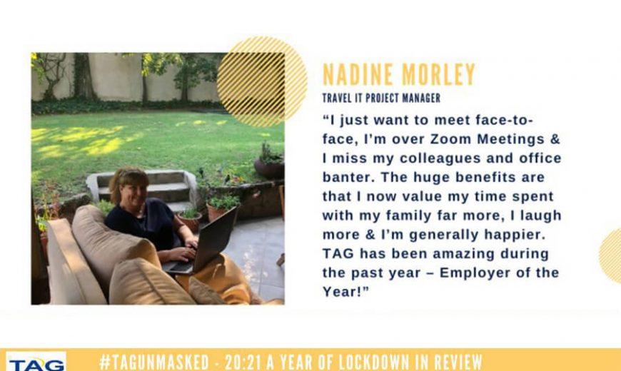Nadine Morley's 20:21 reflections