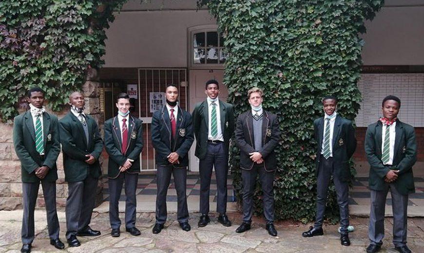 TAG Foundation lad and KES top athlete Thabang Mphafi