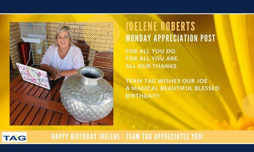 Happy Birthday Joelene Roberts